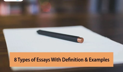 8-Types-of-Essays-With-Definition-&-Examples