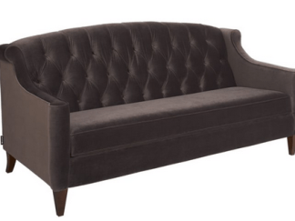 Lorelei 3 seater velvet sofa