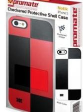 Promate Notik iPhone 5 Checkered Protective Shell Cover Colo
