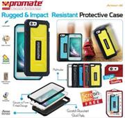 Promate Armor-i6 Rugged & Impact Resistant Protective Case F