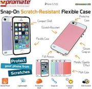 Promate Grosso-i5 iPhone 5 Striped Flexi-Grip Snap Case for