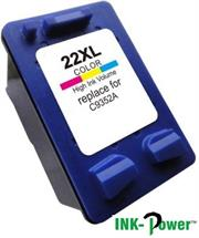 Inkpower Generic Replacement Tri Colour Cartridge for HP 22X