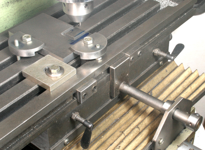 Milling Machine X And Y Axis Table Stops