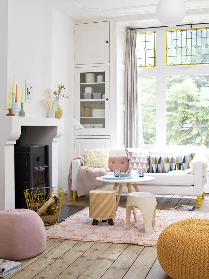 Kleur interieur een licht en wit interieur stijlvol for Design hotel juist