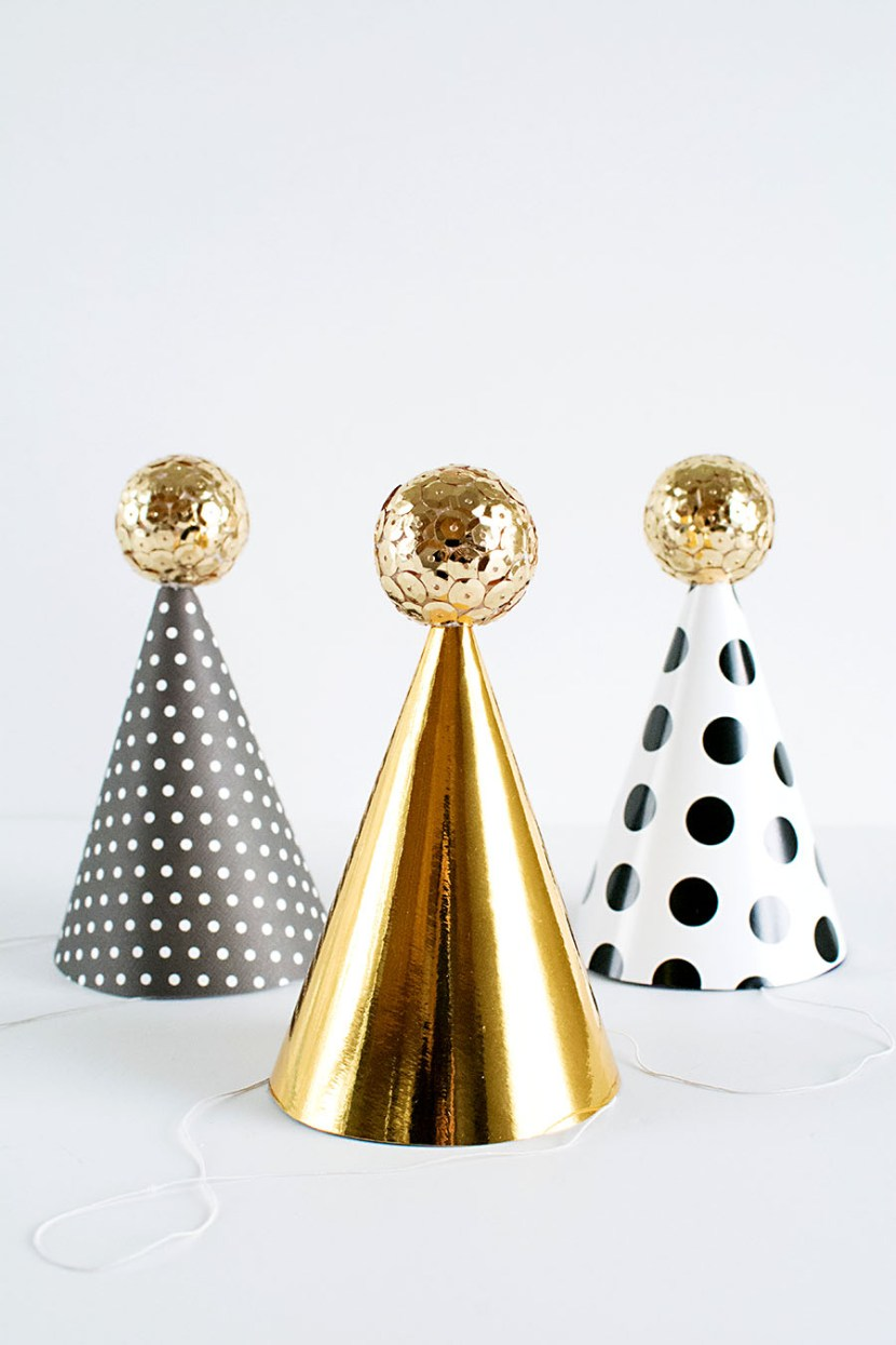 DIY New Years Eve party hat