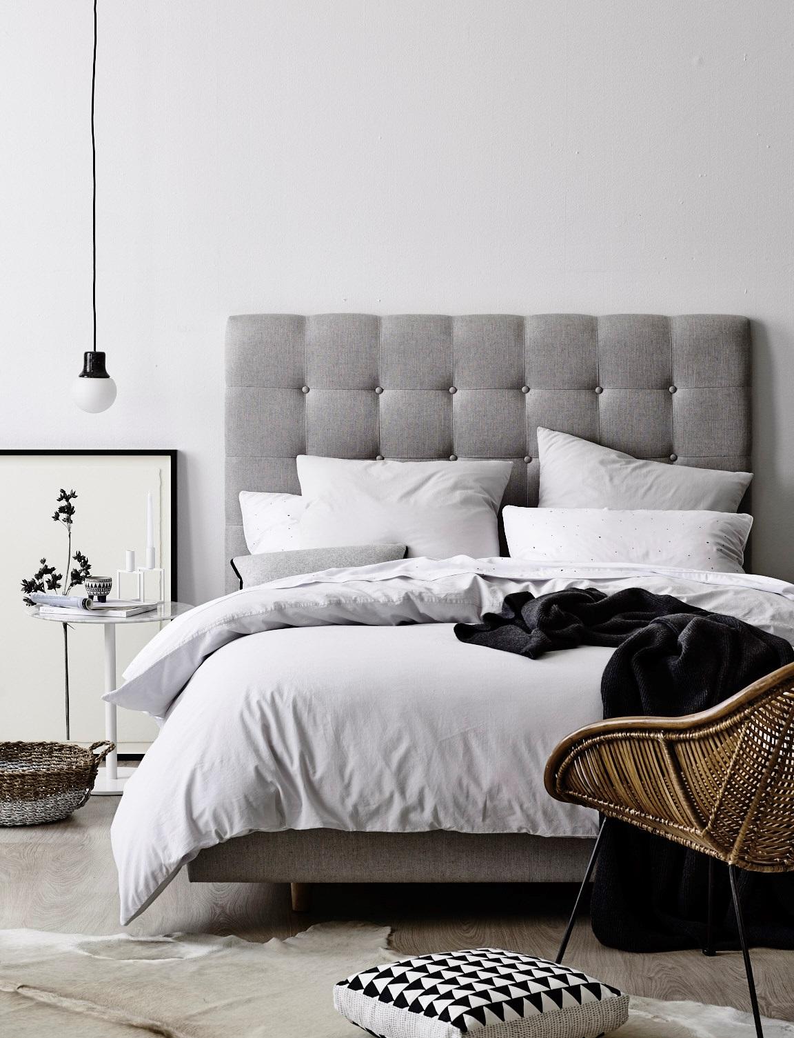 Minimal Bedrooms (Again) - Homey Oh My on Neutral Minimalist Bedroom Ideas  id=44414