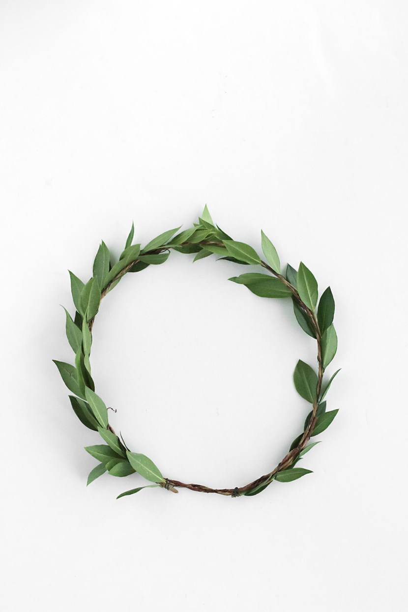 Diy boho floral crown with homey oh my pottery barn you should have a greenery crown that looks like this flower 1 izmirmasajfo Images