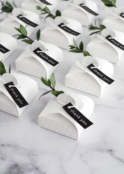 3 Simple and Modern DIY Wedding Favors   Homey Oh My 3 Simple and Modern DIY Wedding Favors