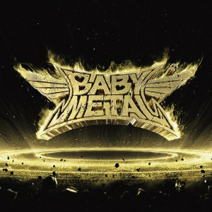Cover image from Babymetal's second album Metal Resistance