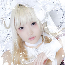 Mashiro of Japanese yami-kawaii idolcore group Zenbu Kimi no Sei Da