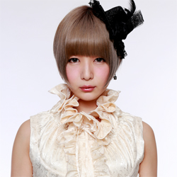 Tokita Maako of Japanese progressive metal idol group Mugen Regina