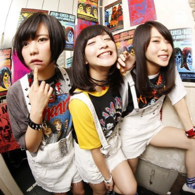 Idolcore rock idol group ayumikurikamaki in their human form