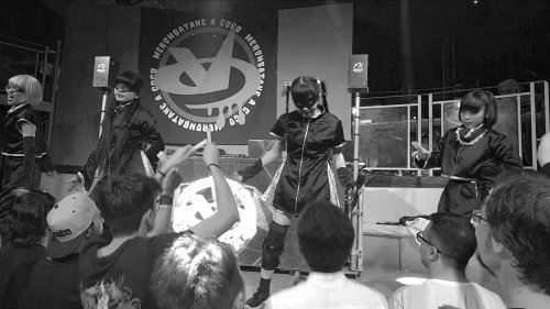 Melon Batake a go go performing at Monster of Dolls, Bologna, 2019.