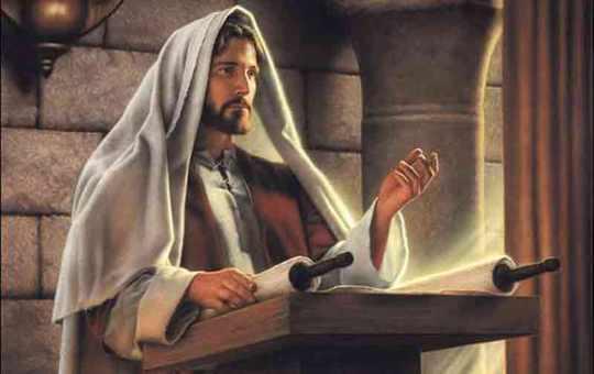 Jesus teacing his disciples (Authority)