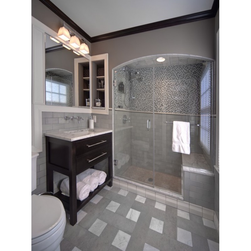Wholesale Mosaic Tile Crystal Glass Backsplash Washroom ... on Bathroom Tile Pattern Design  id=11304