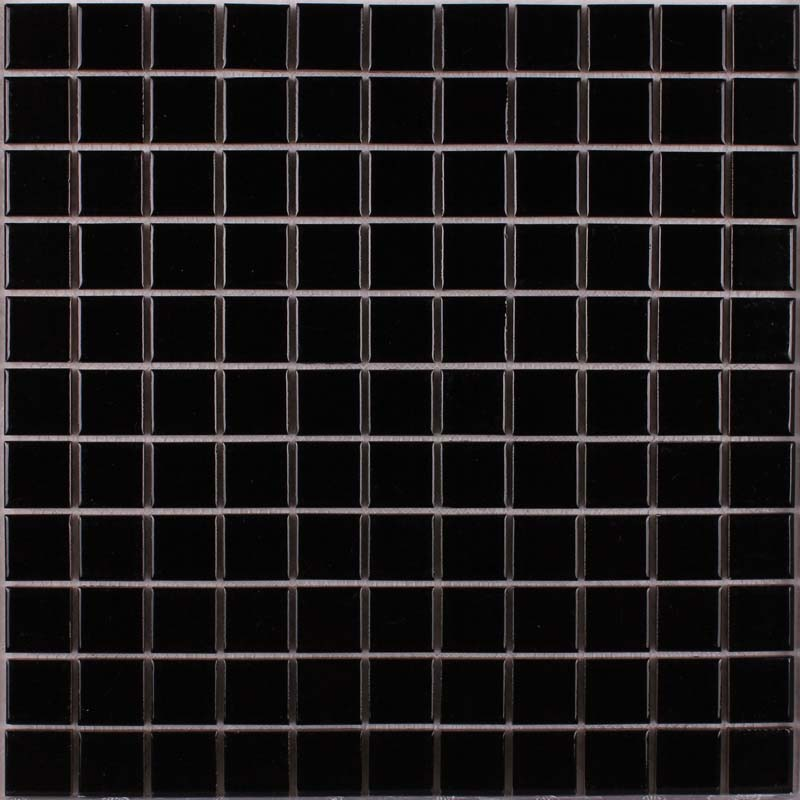 wholesale porcelain tile mosaic black square surface art tiles kitchen backsplash bathroom shower wall sticker
