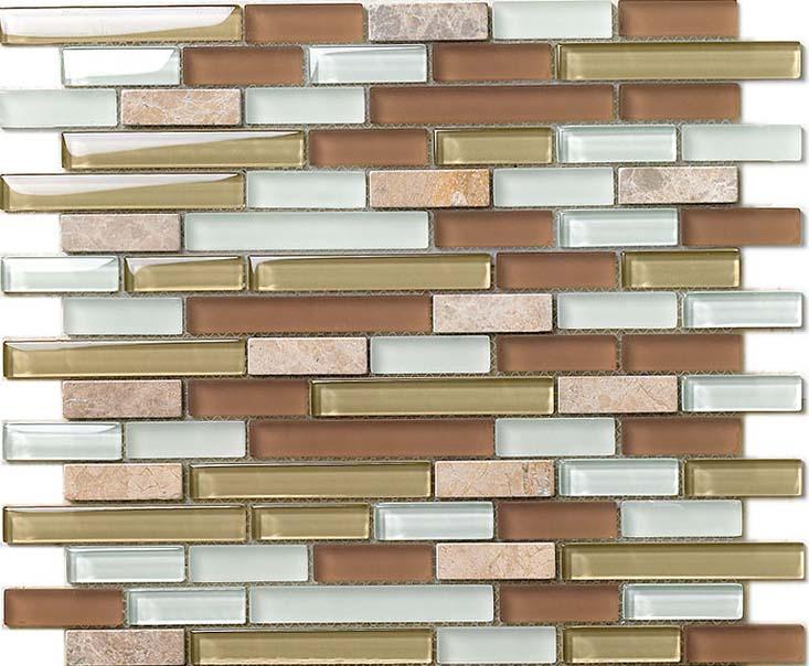 wholesale natural stone with crystal mosaic tile sheet backsplash of wall stickers bedroom kitchen washroom