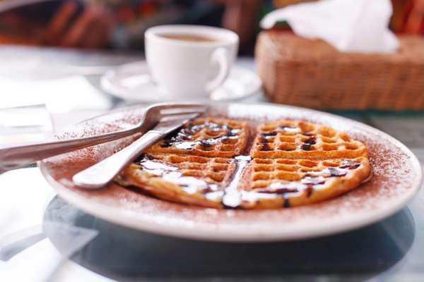 kaffe og vaffler