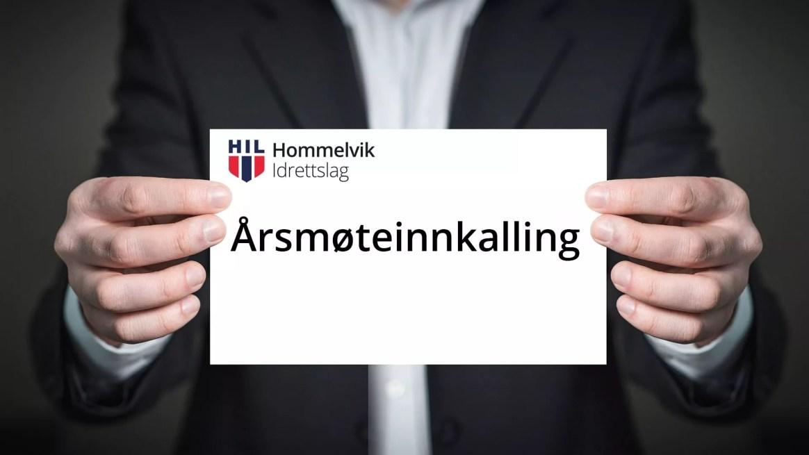 Årsmøte i Hommelvik IL