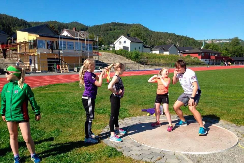 Oppstart av treninger på Øya