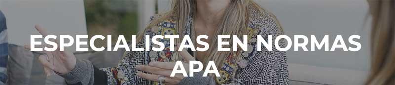 Especialistas en Normas APA