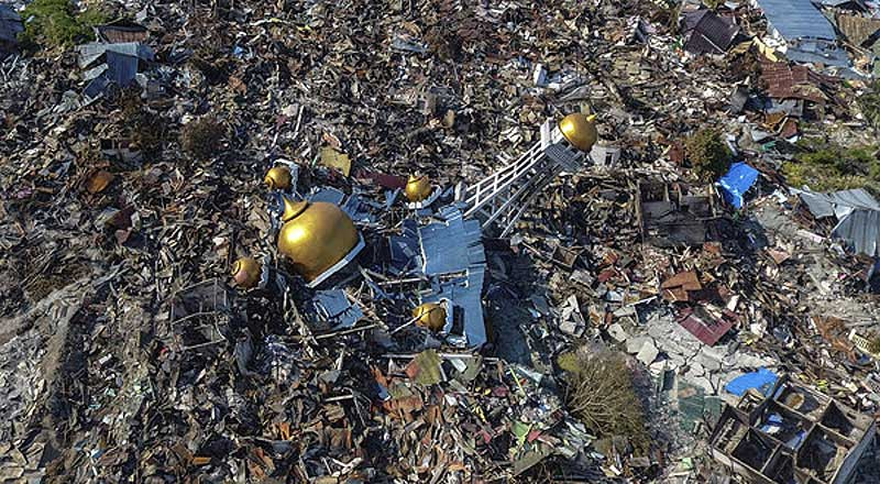 Tsunami Celebes Indonesia