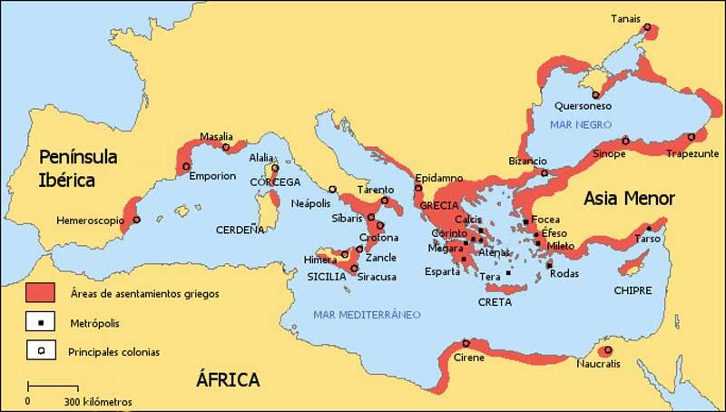Colonización griega
