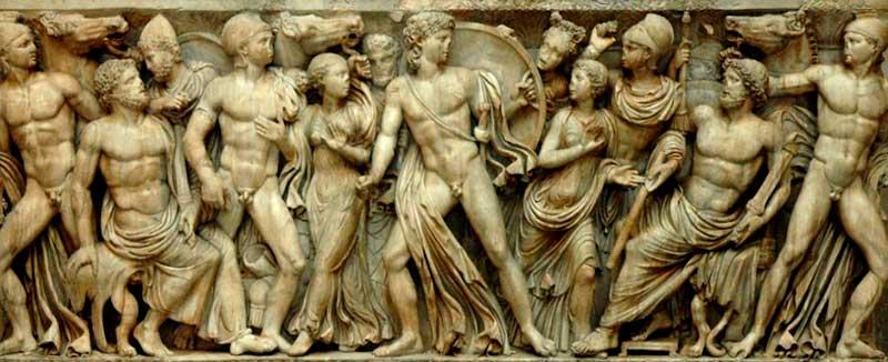 Qué es la mitología griega