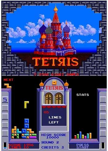 Versión Tetris Máquinas