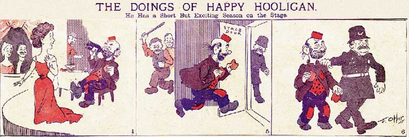 Comic Happy Hollingan