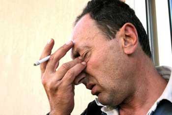 Fumar y cansancio