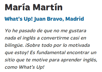 Opiniones What's Up