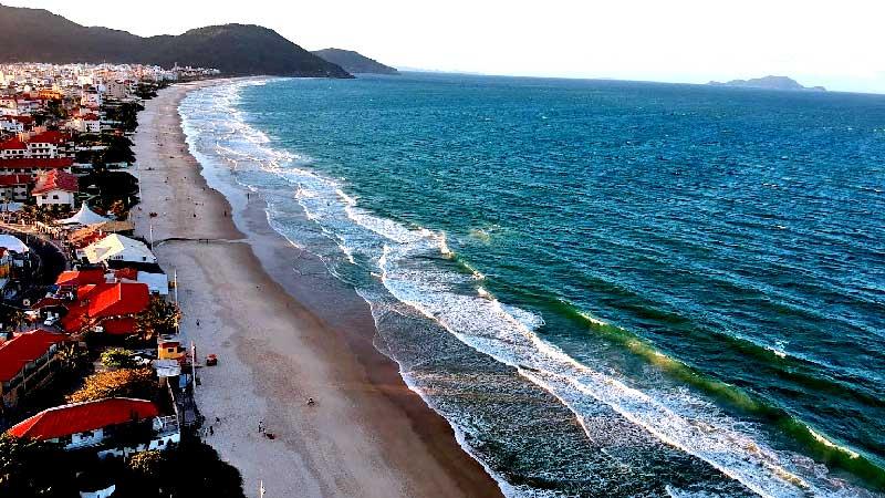 Playa de los ingleses Florianópolis
