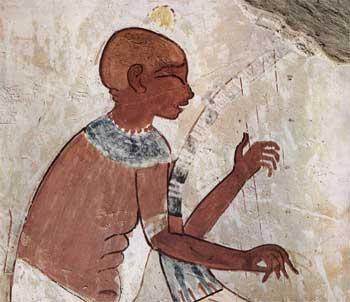 Arpas del antiguo Egipto