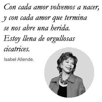 Frases de amor Isabel Allende
