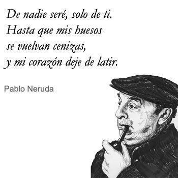 Frases de amor Pablo Neruda