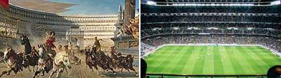 Fútbol circo romano