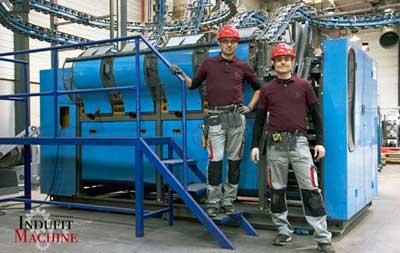 Instalación maquinaría pesada