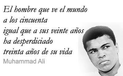 Frases célebres Muhammad Ali