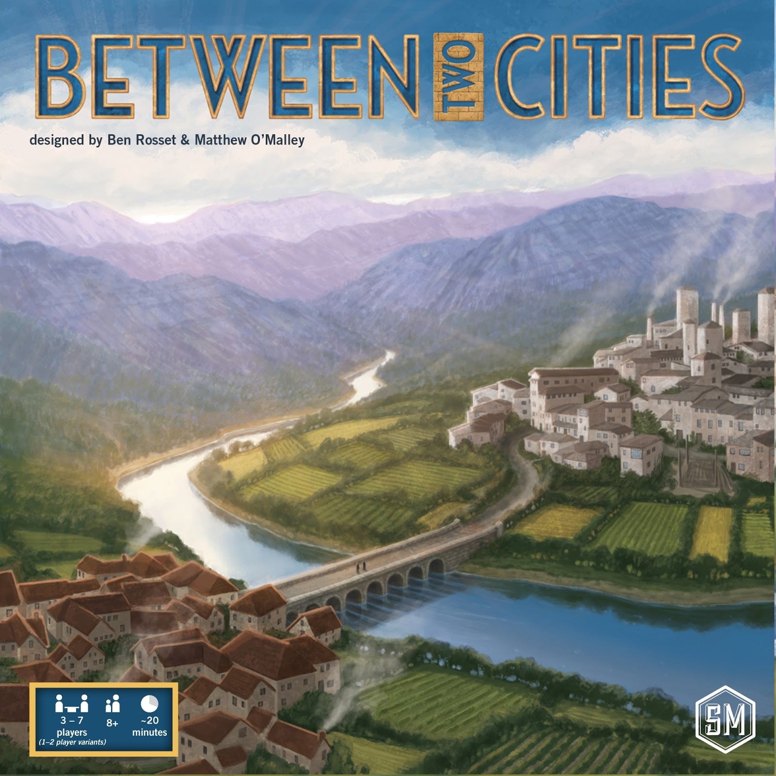 Between Two Cities, un juego de mesa para construir a dos manos