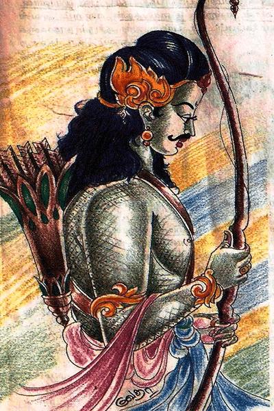 Iraván-dios-trasgénero