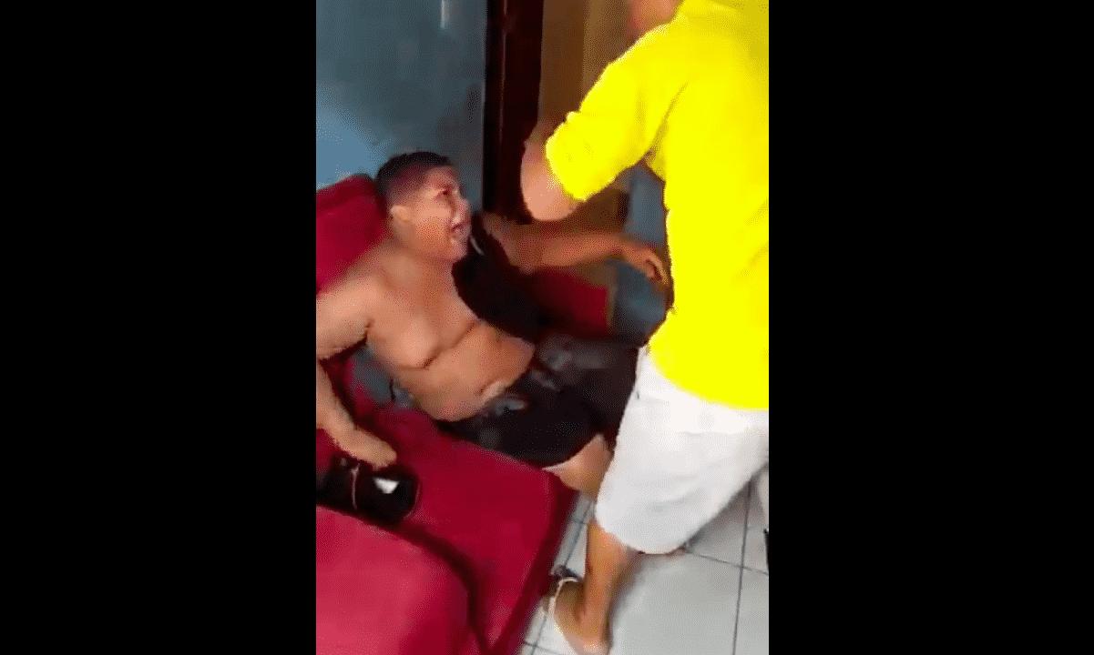 agresión padre hijo Brasil