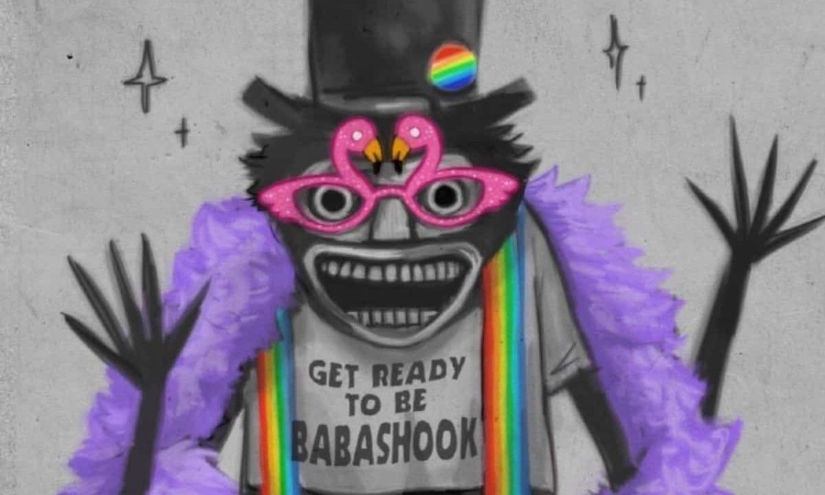 personajes LGBT terror Babadook by Muffinpines