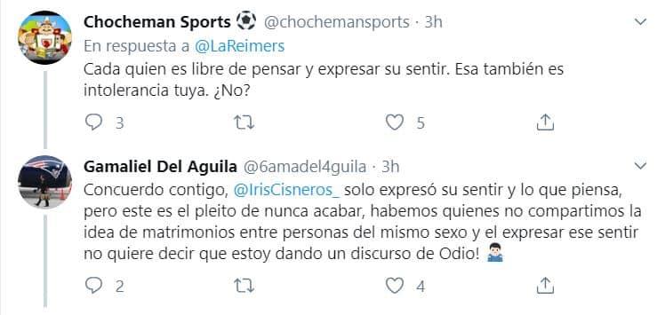 Iris Cisneros homofobia