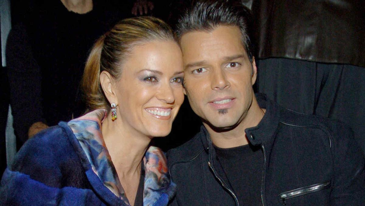 Ricky Martin Rebecca de Alba