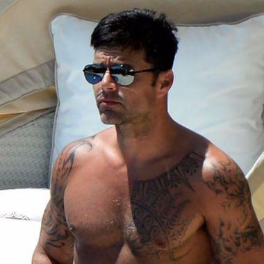 Ricky Martin año nuevo