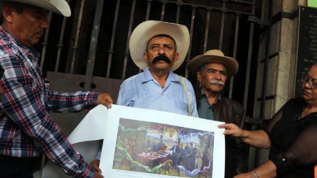 Jorge Zapata protestas zapata gay