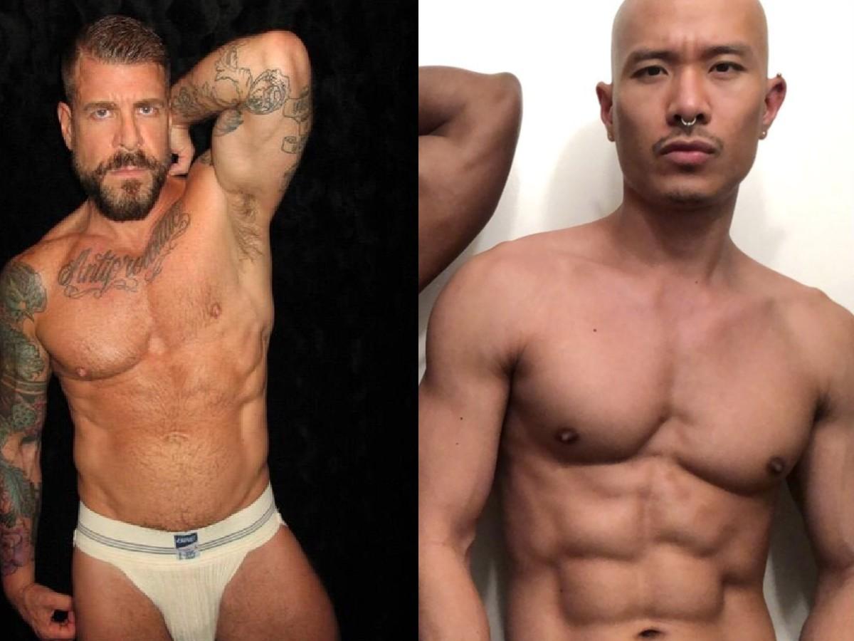 rocco steele caged jock actores porno gay australia