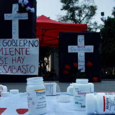 manifestación desabasto antirretrovirales