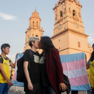 activistas lgbt michoacán medios portada